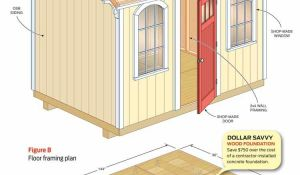 Guidelines For Building A Shed Foundation