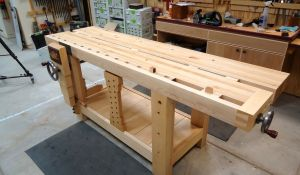 Be Organized: Get A Garage Workbench