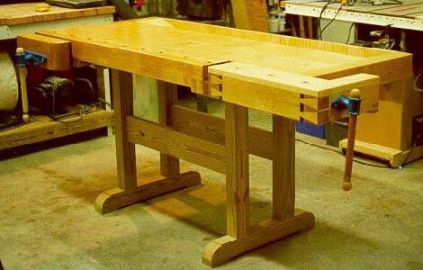 Build Your Own Garage Workbench
