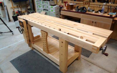 Be Organized: Get A Garage Workbench