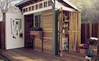 You've Decided You Want A Garden Shed. Why Not Get Some Plans?