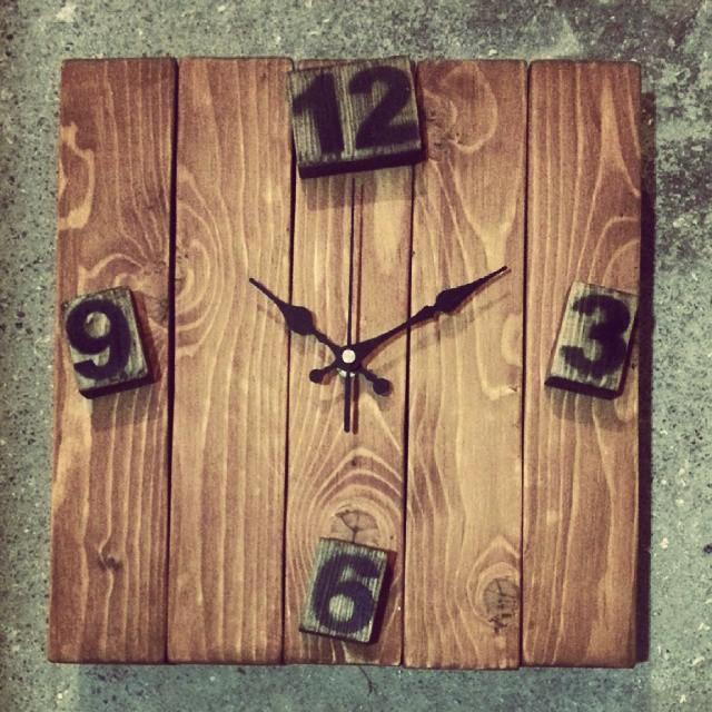 Wood Clock Project