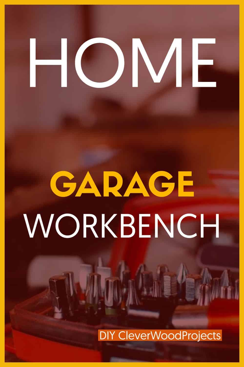 Garage Workbench in Your Home