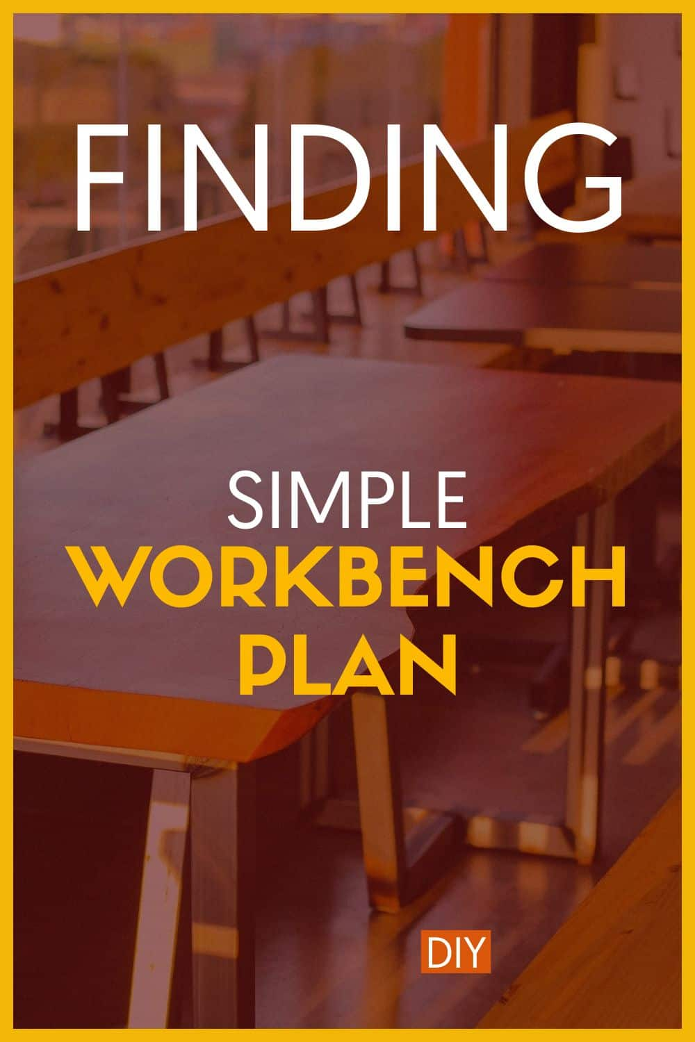 Simple Workbench Plan for Woodworker