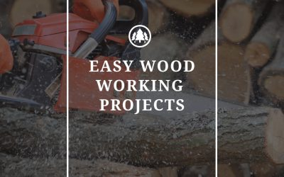Easy Woodworking Projects That Are Easy to Build For Beginners