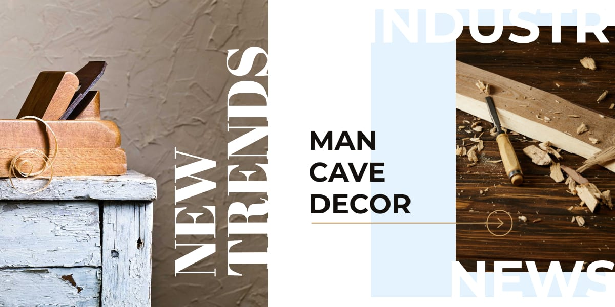 NEW TRENDS IN BACHELOR AND MAN CAVE DECORATING