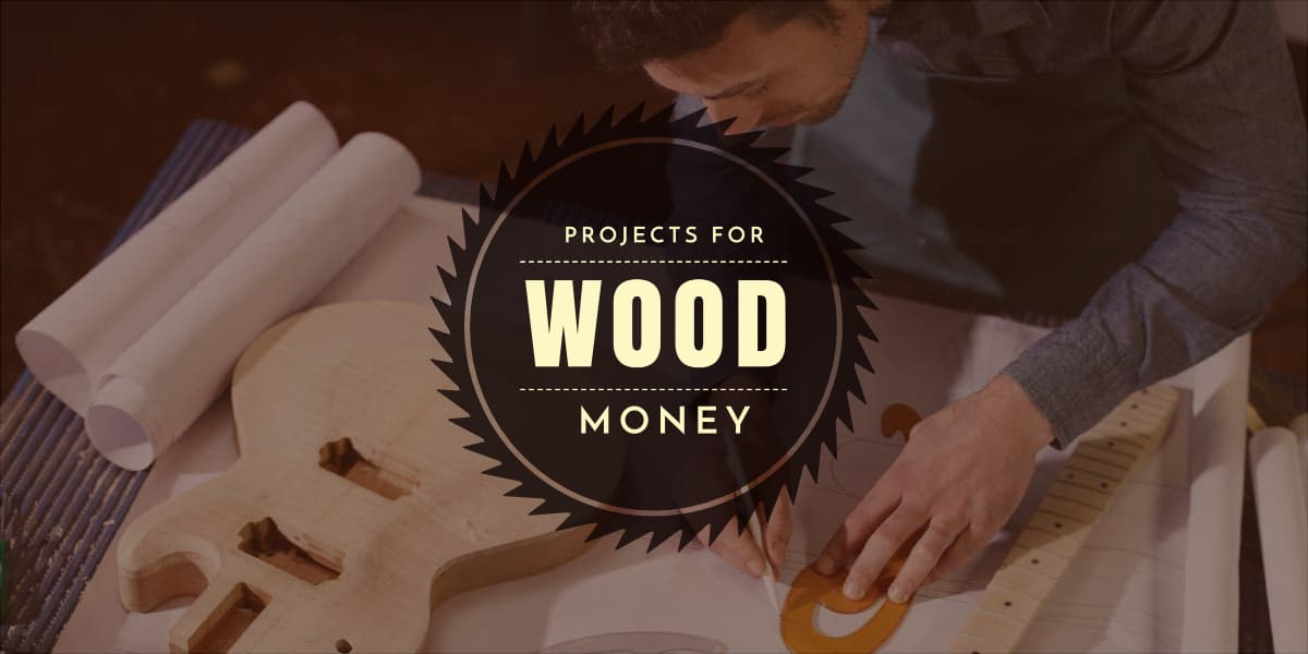 Wood Projects For Money - How to Sell Online